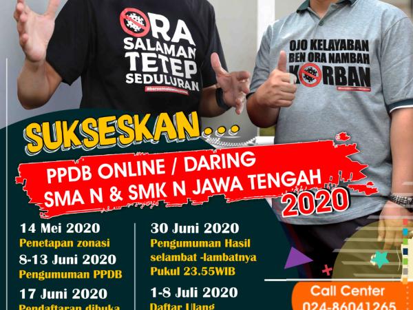 JADWAL PPDB SMK NEGERI 1 KLEGO TAHUN PRLAJARAN 2020/2021